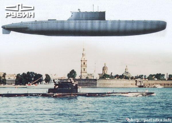 Подводная лодка проекта 613
