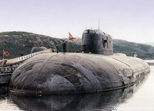 Атомный ракетоносец 949 А проекта в базе