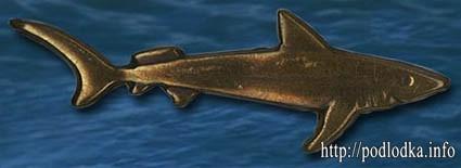 Значок ПЛА Акула