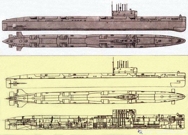 ПЛАРК проекта 675 (
