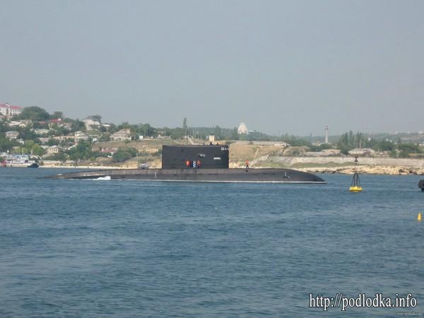 Подводная лодка проекта 877