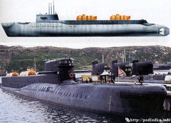 Подводная лодка проекта 940