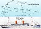 Схема аттаки на немецкий лайнер Генерал Штойбен