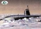 ПЛ проекта 627 А во льдах