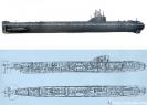 Подводная лодка проекта 627. Схема.