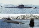 Подводная лодка проекта 671 в море