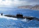 ПЛА проекта 945 в море