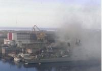 Пожар на атомной подводной лодке Орёл на судоремонтном заводе Звёздочка в Северодвинске
