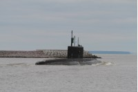 Подводная лодка Северного флота Ростов-на-дону завершила дальний поход