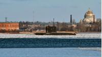 Подводная лодка Старый Оскол в Финском заливе