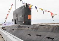 Дизельная подводная лодка Балтийского флота Выборг