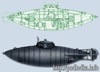 Подводная лодка С. Джевецкого