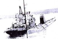 К-27 перед затоплением