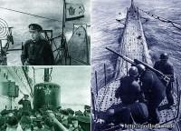 Поляков Е.П. на мостике. Победа моряков-подводников. ПЛ готовится к атаке
