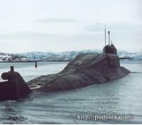 Операция Бегемот. ПЛ К-407 Новомосковск уходит в море