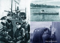 Командиры подводных лодок, прорывавшихся в Севастополь